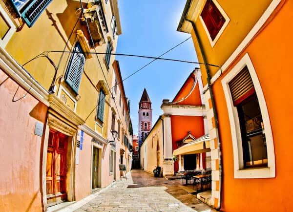 What to do in Zadar County Croatia - UNESCO Old Town of Zadar