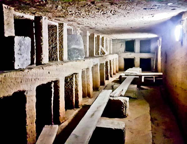 Things to do in Alexandria Egypt - Catacombs of Kom El Shoqafa - Empty Tombs