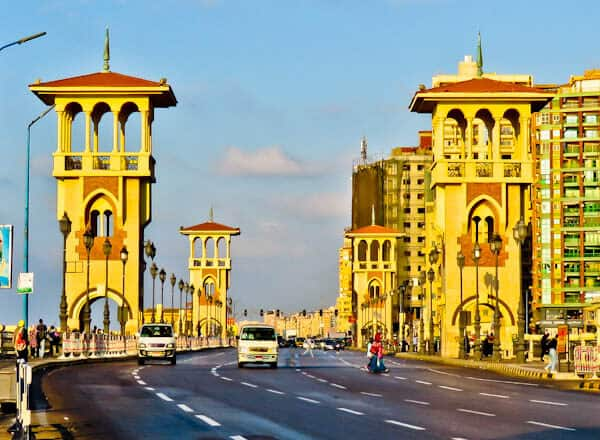 Things to do in Alexandria Egypt - Stanley Bridge