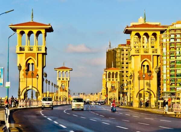 Things to do in Alexandria Egypt - Stanley Bridge