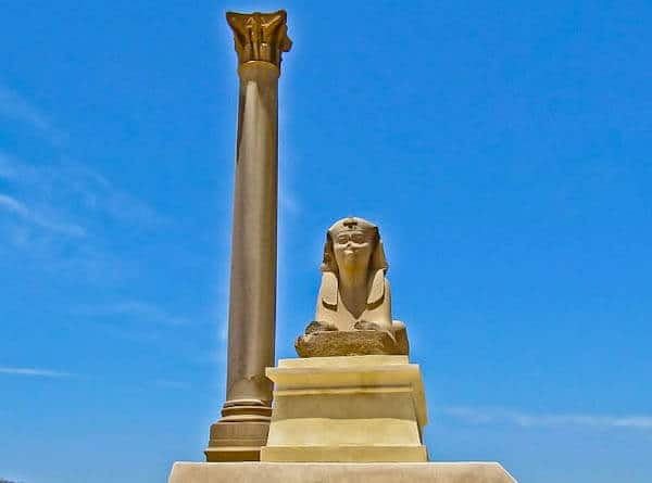 Things to do in Alexandria Egypt - Pompey's Pillar