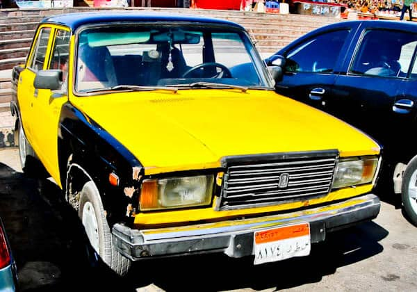 How to Get Around Alexandria - Lada Taxi