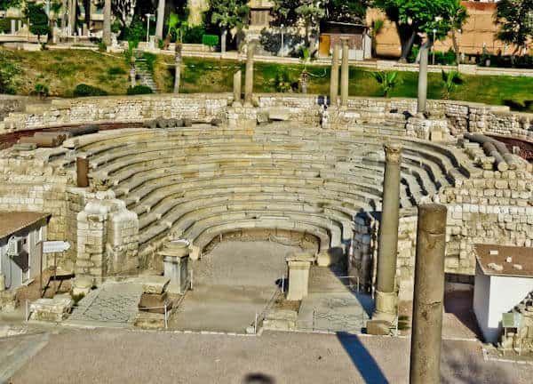 Things to do in Alexandria Egypt - Roman Amphitheater