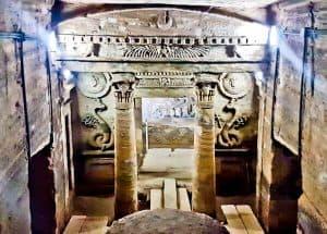 Things to do in Alexandria Egypt - Catacombs of Kom El Shoqafa