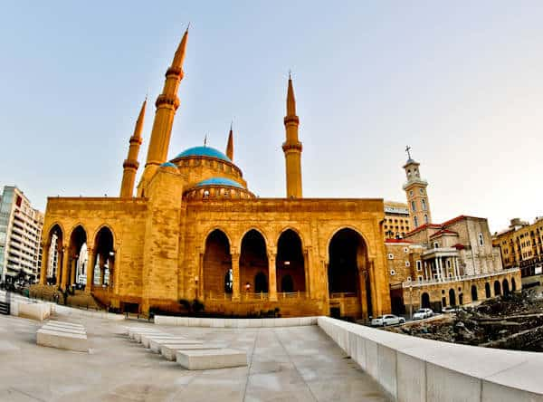 Things to do in Beirut Lebanon - Mohammad Al-Amin Mosque