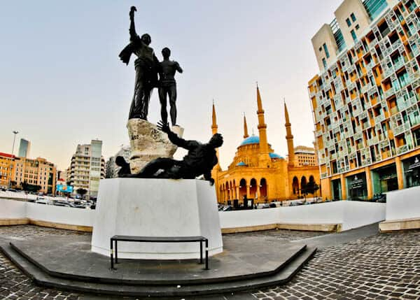 Things to do in Beirut Lebanon - Martyrs' Square