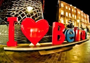 Things to do in Beirut Lebanon - I Love Beirut Sign