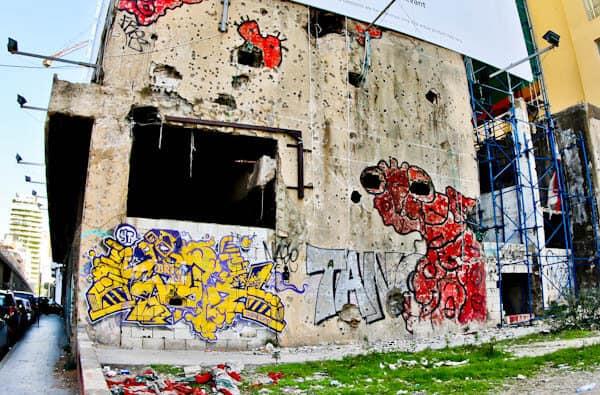 Things to do in Beirut Lebanon - Street Art