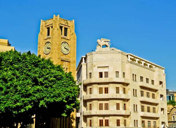 Things to do in Beirut Lebanon - Nejmeh Square Clock Tower
