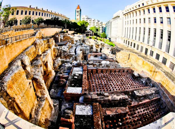 Things to do in Beirut Lebanon - Roman Baths