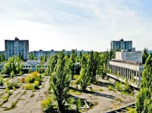 How to Visit Chernobyl on a Day Trip from Kiev Ukraine - Overgrown City of Pripyat