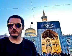Photography at the Imam Reza Shrine