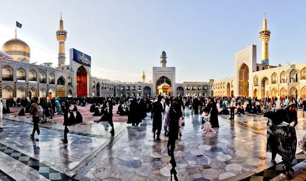 Visit the Imam Reza Shrine as a Non Muslim - Mashhad, Iran - Inqilab Courtyard