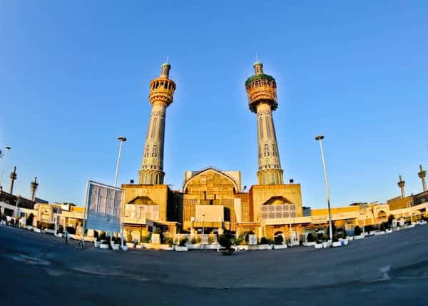 Entry to the Imam Reza Complex