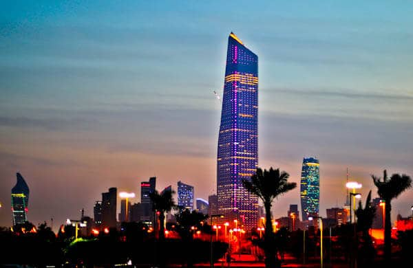 Things to do in Kuwait City Kuwait - Al Hamra Tower
