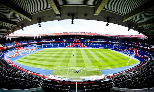 Parc des Princes Stadium Tour - Paris SG - Stadium