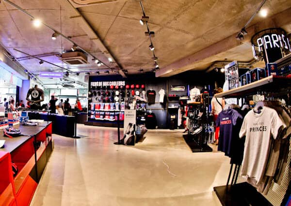 Parc des Princes Stadium Tour - Paris SG - Store