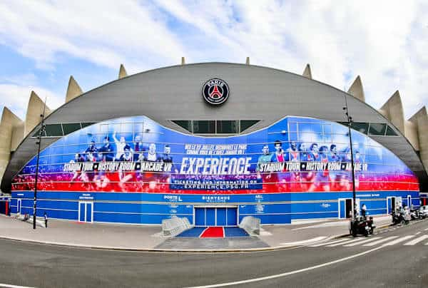 Parc des Princes Stadium Tour - Paris SG - Location