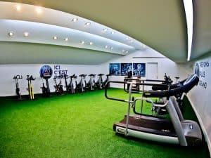 Parc des Princes Stadium Tour - Paris SG - Warm Up Facilities