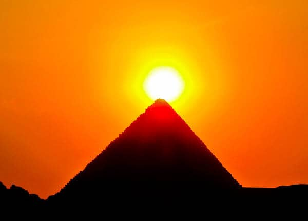 How to Photograph the Egyptian Pyramids of Giza - Pyramids at Sunset