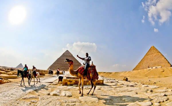 Getting Around the Giza Pyramid Complex