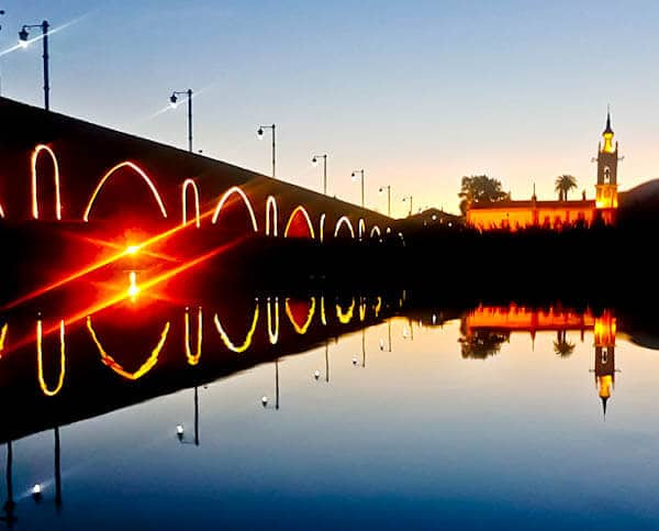 Things to do in Ponte de Lima Portugal - Medieval Bridge at Night