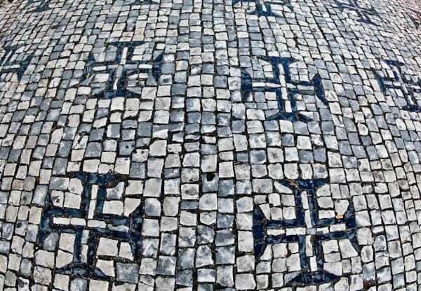 Things to do in Tomar Portugal - Portuguese Pavement and Street Tiles