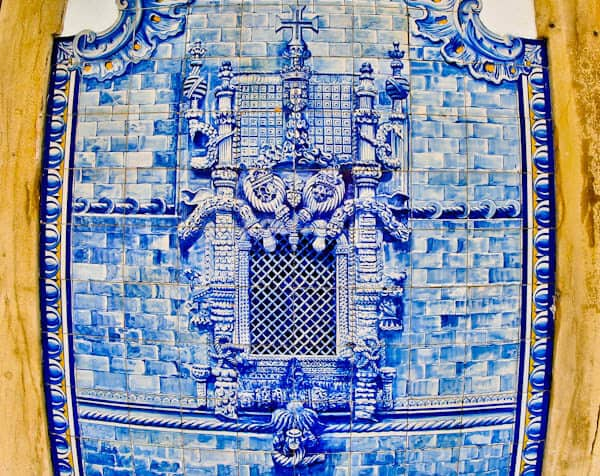 Best Things to do in Tomar Portugal - Window of the Chapter House Azulejos
