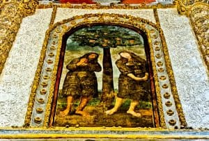 Things to do in Tomar Portugal - Artwork within Templars Castle