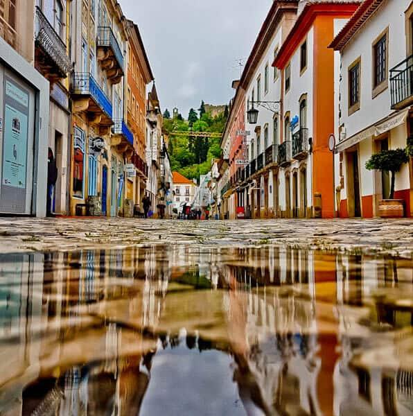 Tomar Portugal in the Rain