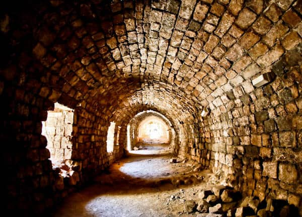 What to see in Tripoli Lebanon - Citadel of Raymond de Saint-Gilles Underground