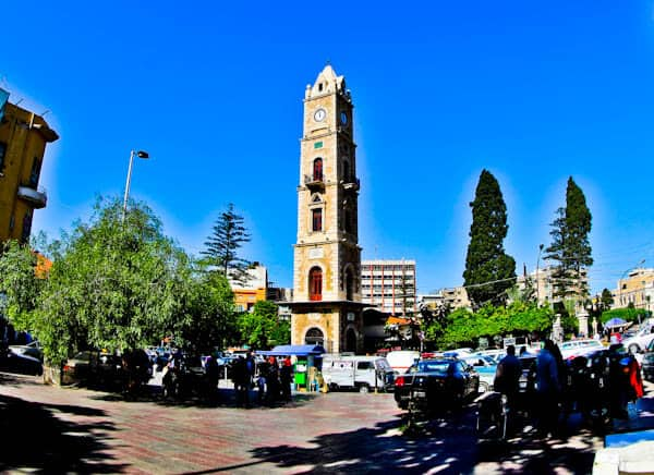 What to see in Tripoli Lebanon - Sultan Abdul Hamid Clock Tower