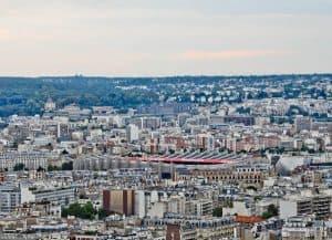Ballon de Paris Panoramic View - Parc des Princes Stadium - Paris SG