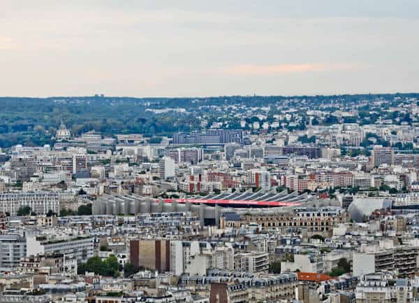 Ballon de Paris Panoramic View - Parc des Princes Stadium - Paris SG