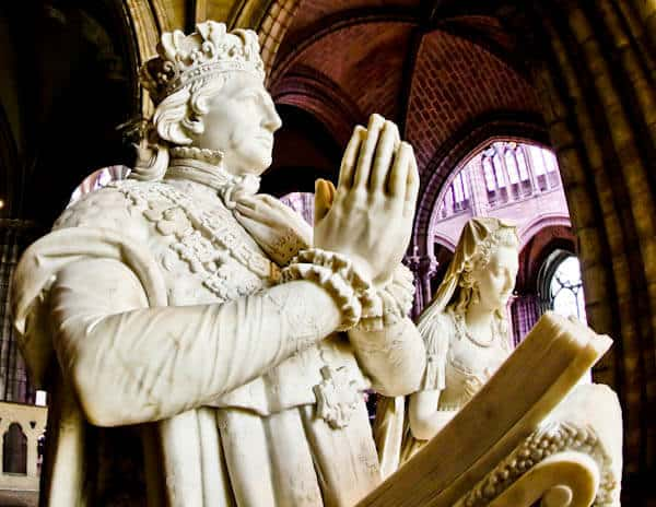 15 Reasons to Visit Saint Denis Basilica - Last king of France - Louis XVI and Marie-Antoinette