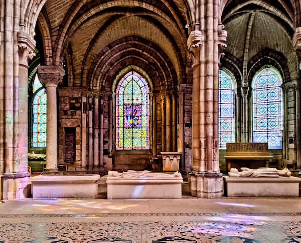 15 Reasons to Visit Saint Denis Basilica - Beams of Colored Light - Stained Glass Windows