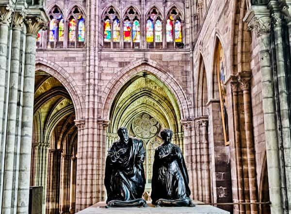 15 Reasons to Visit Saint Denis Basilica - Unique Green Glow from Stained Glass Windows