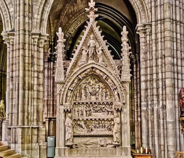15 Reasons to Visit Saint Denis Basilica - Tomb of Dagobert
