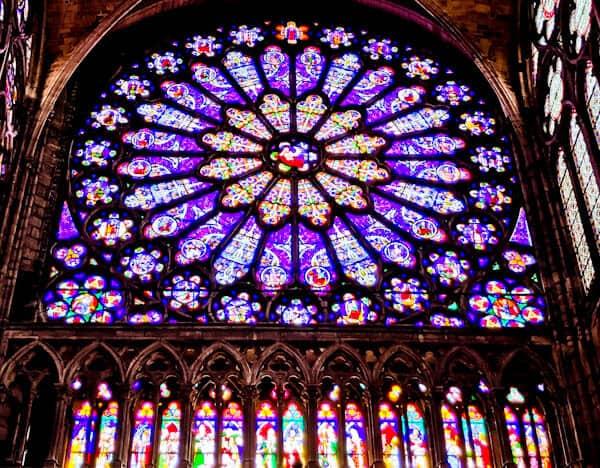 15 Reasons to Visit Saint Denis Basilica - Transept Rose