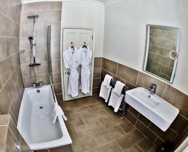 Queensberry Hotel in Bath - Travel Blogger Review - En suite Bathroom