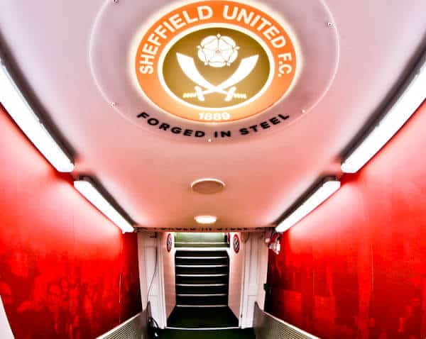 Players Tunnel - Sheffield United - Bramall Lane