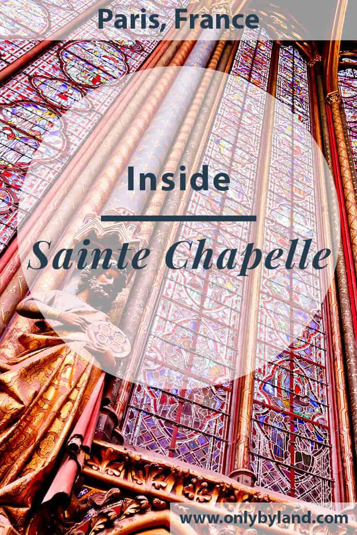 Visit Sainte Chapelle