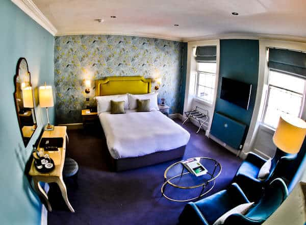 Queensberry Hotel in Bath - Travel Blogger Review - Guest Room