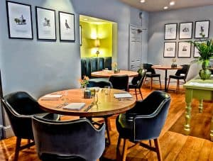 Queensberry Hotel in Bath - Travel Blogger Review - Olive Tree - Michelin Star Restaurant in Bath