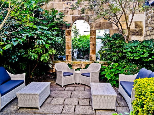 Queensberry Hotel in Bath - Travel Blogger Review - Walled Gardens