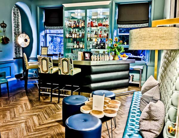 Queensberry Hotel in Bath - Travel Blogger Review - Old Q bar