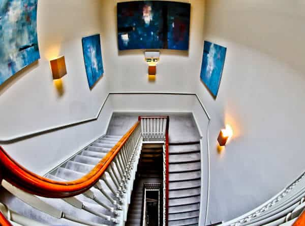 Queensberry Hotel in Bath - Travel Blogger Review - Staircase