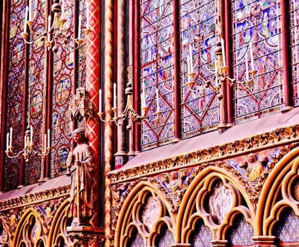 The Twelve Apostles of Sainte Chapelle