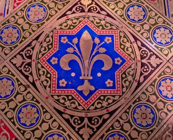 Visit Sainte Chapelle Paris - Colored Floor Tiles - Capetian