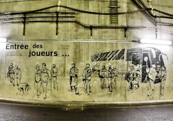 Stade de France Stadium Tour - Players Entrance